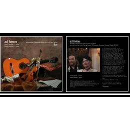 Ad Fontes-Natalia Pancec (vioara) | Maxim Belciug (chitara) 2011