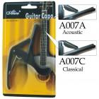 Capodastru chitara acustica Alice A007A Bk