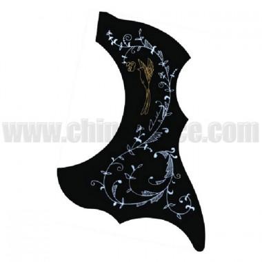 Aparator chitara asimetric cu ornament