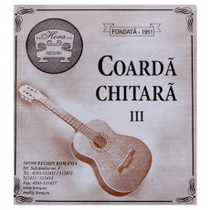 Coarda chitara acustica III Sol Hora Reghin