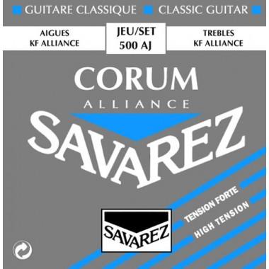Corzi chitara clasica Savarez Corum Alliance 500 AJ