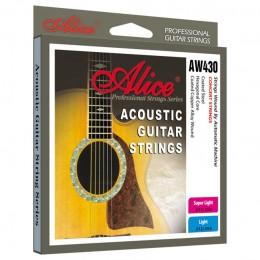 Corzi chitara acustica Alice AW430