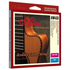 Corzi chitara acustica Alice AW433