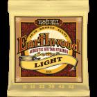 Corzi chitara acustica Ernie Ball Earthwood Light 80/20 Bronze 11-52