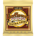 Corzi chitara acustica Ernie Ball Earthwood Extra Light 80/20 Bronze