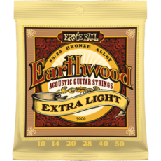 Corzi chitara acustica Ernie Ball Earthwood Extra Light 80/20 Bronze