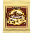 Corzi chitara acustica Ernie Ball Earthwood Rock and Blues 80/20 Bronze
