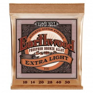 Corzi chitara acustica Ernie Ball Earthwood Ph Br Extra Light 10-50