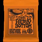 Corzi chitara electrica Ernie Ball Nickel Wound Skinny Top Heavy Bottom Slinky 10-52
