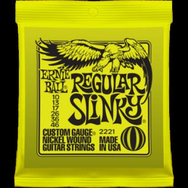 Corzi chitara electrica Ernie Ball Nickel Wound Regular Slinky 10-46