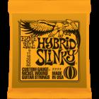 Corzi chitara electrica Ernie Ball Nickel Wound Hybrid Slinky 9-46