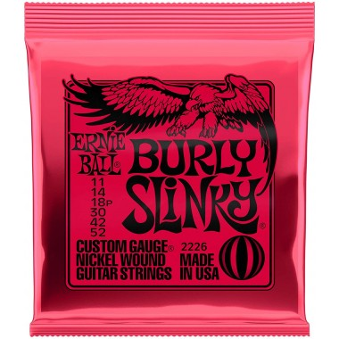 Corzi chitara electrica Ernie Ball Nickel Wound Burly Slinky 11-52