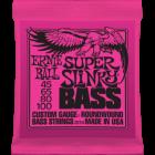 Corzi chitara electrica bass Ernie Ball Nickel Wound Super Slinky 45-100