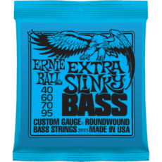 Corzi chitara electrica bass Ernie Ball Nickel Wound Extra Slinky 40-95