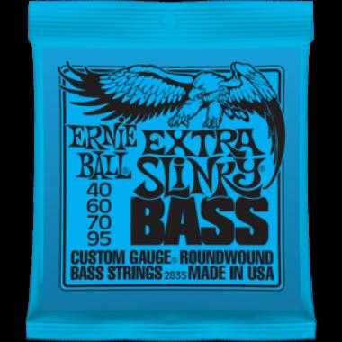 Corzi chitara electrica bass Ernie Ball Nickel Wound Extra Slinky 40-95