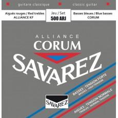 Corzi chitara clasica Savarez Corum Alliance 500 ARJ