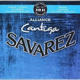 Corzi chitara clasica Savarez Alliance Cantiga 510 AJ
