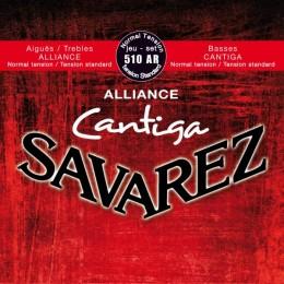 Corzi chitara clasica Savarez Alliance Cantiga 510 AR