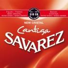 Corzi chitara clasica Savarez New Cristal Cantiga 510 CR