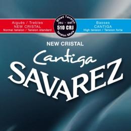 Corzi chitara clasica Savarez New Cristal Cantiga 510 CRJ