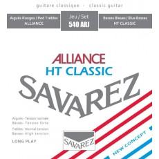 Corzi chitara clasica Savarez Alliance HT Classic 540 ARJ
