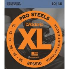 Corzi chitara electrica D'Addario XL Prosteels EPS510