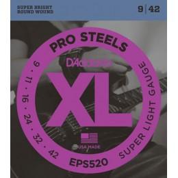Corzi chitara electrica D'Addario XL Prosteels EPS520