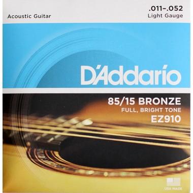 Corzi chitara acustica D'Addario EZ910