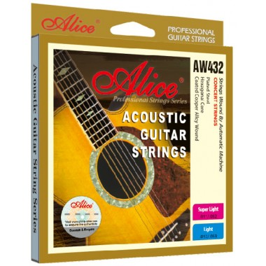 Corzi chitara acustica Alice AW432