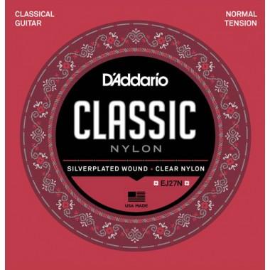 Corzi chitara clasica D'Addario EJ27N Classic Nylon