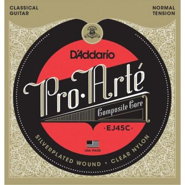 Corzi chitara clasica D'Addario Pro Arte Composite EJ45C