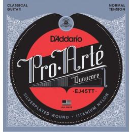 Corzi chitara clasica D'Addario Pro Arte EJ45TT