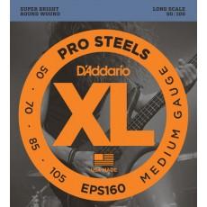 Corzi chitara electrica bass D'addario EPS160 ProSteels
