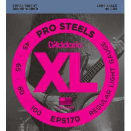 Corzi chitara electrica bass D'addario EPS170 ProSteels