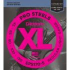Corzi chitara electrica bass 5 corzi D'addario EPS170-5 ProSteels