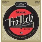Corzi chitara clasica D'Addario EXP45 Coated