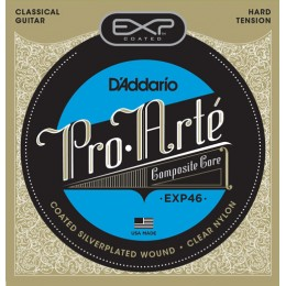 Corzi chitara clasica D'Addario EXP46 Coated