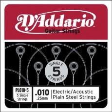 Corzi individuale chitara acustica/electrica D'Addario PL009-5