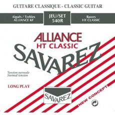 Corzi chitara clasica Savarez Alliance HT Classic 540 R