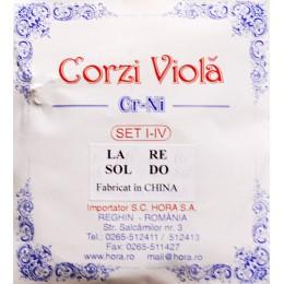 Corzi viola Cr-Ni garnitura Hora Reghin