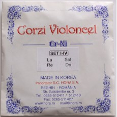 Corzi violoncel Cr-Ni