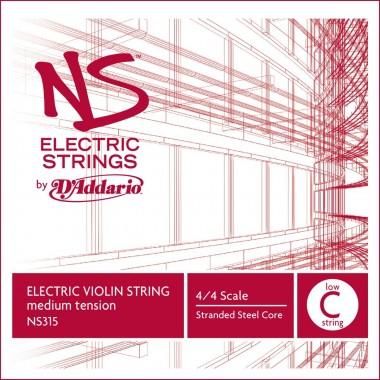 Coarda vioara electrica 5 (Do) D'Addario NS