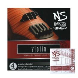 Corzi vioara electrica 5 corzi D'Addario NS