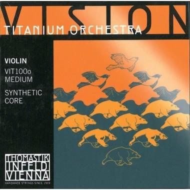 Corzi vioara Thomastik Vision Titanium Orchestra