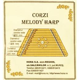 Corzi melody harp Hora Reghin