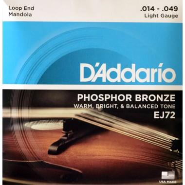 Corzi mandola D'Addario Phosphor Bronze EJ72