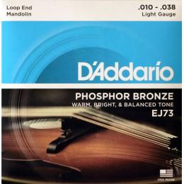 Corzi mandolina D'Addario EJ73 Phosphor Bronze