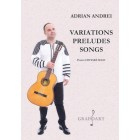 Adrian Andrei - Variations, Preludes, Songs - chitara solo