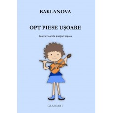 Baklanova - Opt piese usoare (vioara)