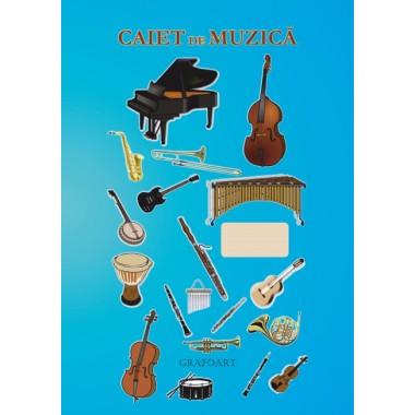 Caiet de muzica A4 48 file